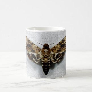 Death's Head Hawkmoth Acherontia Lachesis Basic White Mug