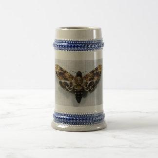 Death's Head Hawkmoth Acherontia Lachesis Beer Steins