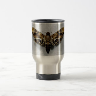 Death's Head Hawkmoth Acherontia Lachesis Stainless Steel Travel Mug