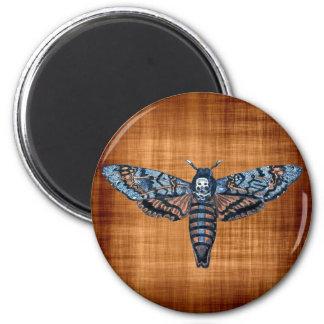 Death's Head Moth, aka Sphinx atropo moth Refrigerator Magnet
