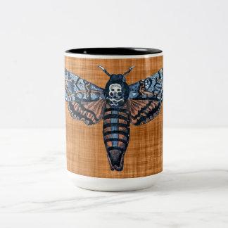 Death's Head Moth, aka Sphinx atropo moth Coffee Mugs