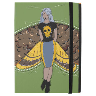 Death's head moth fairy iPad Case