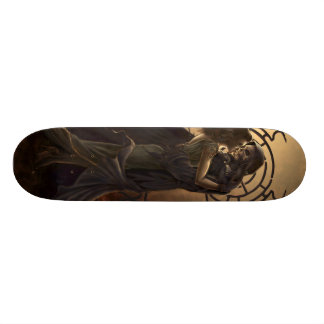 Death's Kiss 21.3 Cm Mini Skateboard Deck