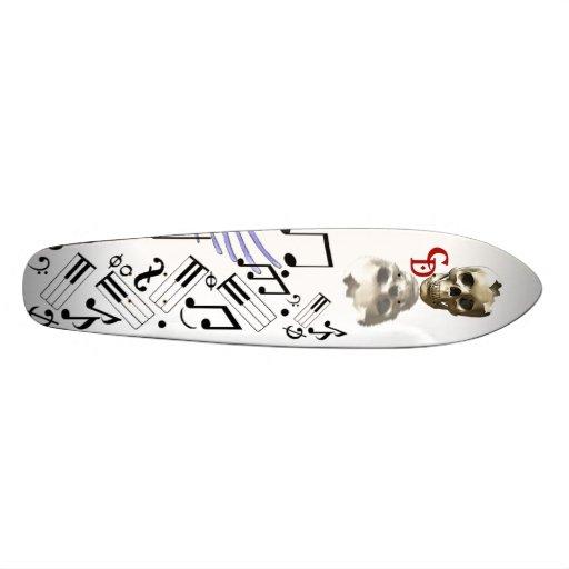 Death's Song Custom Skateboard