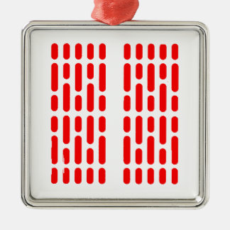 Deathstar Interior Lighting RED ALERT Silver-Colored Square Decoration
