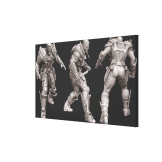 Deathstroke Alternate Turnaround Canvas Print