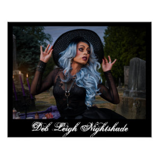 "Deb Leigh ""My Grave or Yours?"" Poster"