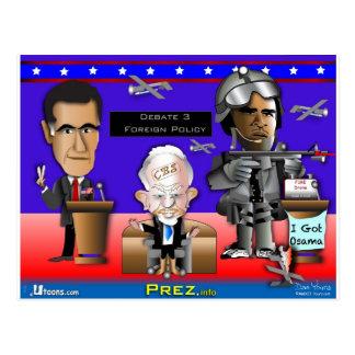 Debate 3 War and Peace Postcard