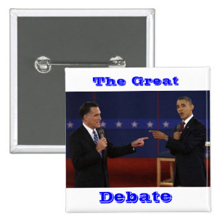 debate-number-21.jpg, The Great, Debate 15 Cm Square Badge