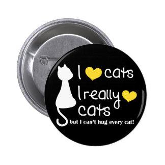 Debbie Cat Lovers Button