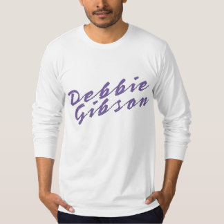 Debbie Gibson Fitted Long Sleeve T-Shirt