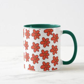 Debbie's Flower Mug