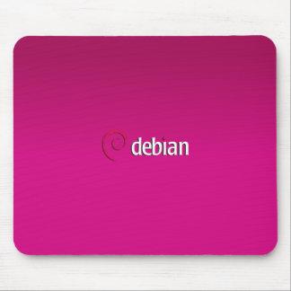 Debian Linux Mouse Pad