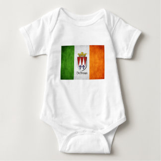 DeBryan Irish Flag Baby Bodysuit