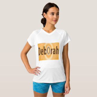 Deb's Ora Women's Champ Double-Dry V-Neck T-Shirt