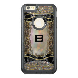 Debsaulea VI Elegant Vintage Art Deco Monogram OtterBox iPhone 6/6s Plus Case