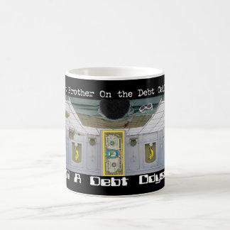 Debt Brother on the Debt Ceiling Basic White Mug