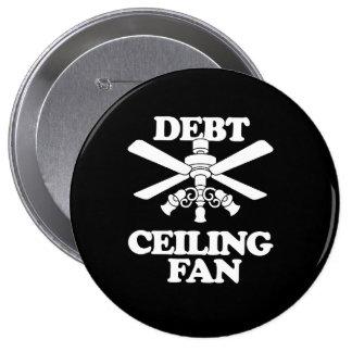 DEBT CEILING FAN 10 CM ROUND BADGE