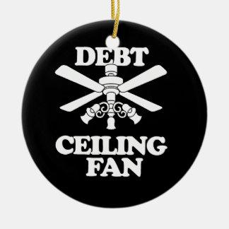DEBT CEILING FAN ORNAMENTS