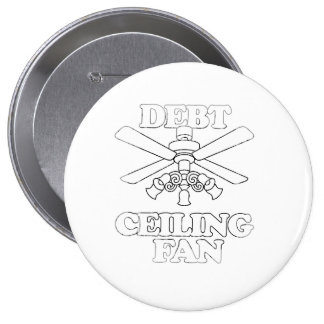 DEBT CEILING FAN Faded png Button