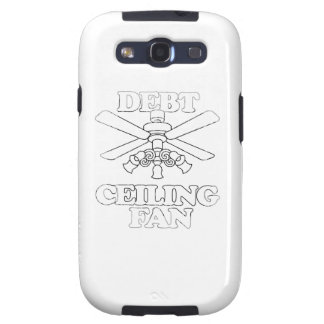DEBT CEILING FAN Faded.png Galaxy S3 Cases
