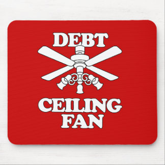 DEBT CEILING FAN MOUSE PAD