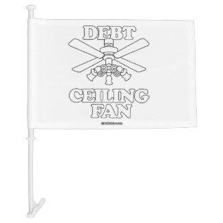 DEBT CEILING FAN CAR FLAG