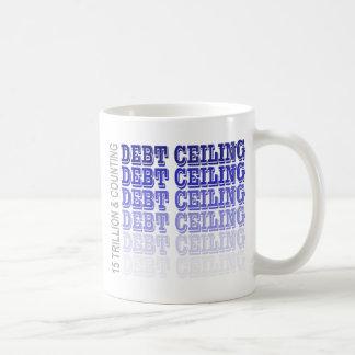 Debt Ceiling Merchandise Basic White Mug