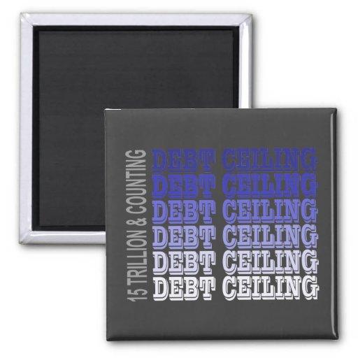 Debt Ceiling Merchandise Magnet
