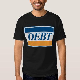 DEBT T-SHIRTS