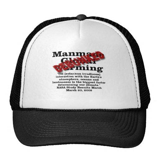 Debunked Manmade Global Warming Hats