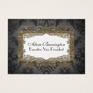Debusschère Elegant Professional Business Card