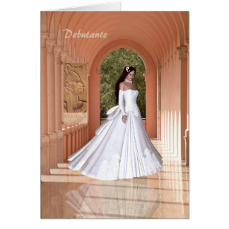 Debutante Congratulations Card