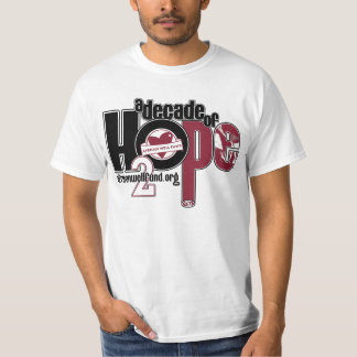 Decade of Hope Men's Value Tshirt