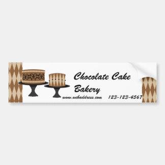Decadent Chocolate Cakes Bumper Stickers