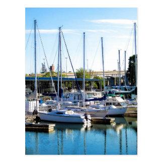 Decatur Alabama Boat Harbor Postcard