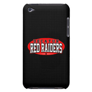 Decatur High School; Red Raiders iPod Touch Case-Mate Case