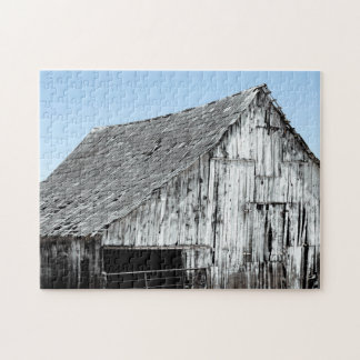 Decayed Barn Jigsaw Puzzle