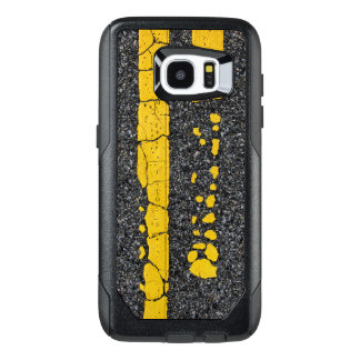 Decayed Double Yellow Line OtterBox Samsung Galaxy S7 Edge Case