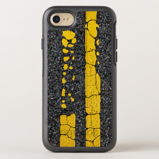 Decayed Double Yellow Line OtterBox Symmetry iPhone 8/7 Case