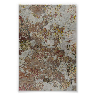 Decayed Flower Wallpaper Posters