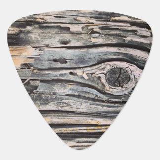 Decaying Wood Guitar Picks Guitar Pick