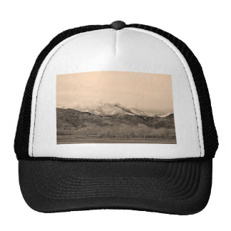 December 16th Twin Peak Sunrise Sepia View Mesh Hat