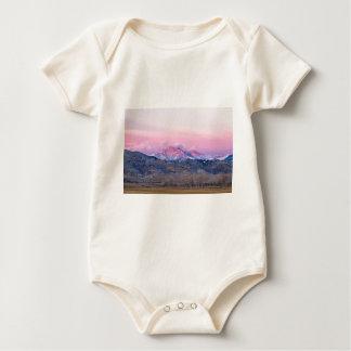 December 16th Twin Peak Sunrise View Baby Bodysuit