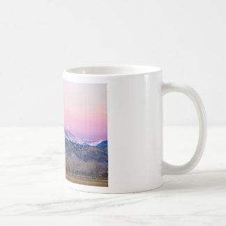 December 16th Twin Peak Sunrise View Mugs