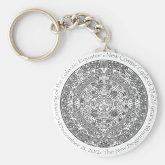 DECEMBER 21, 2012: The New Beginning commemorative Basic Round Button Key Ring