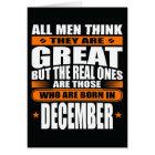 December Birthday (Add Your Text) Card