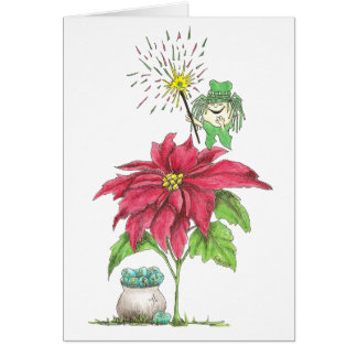 December Fairy Birthday Card