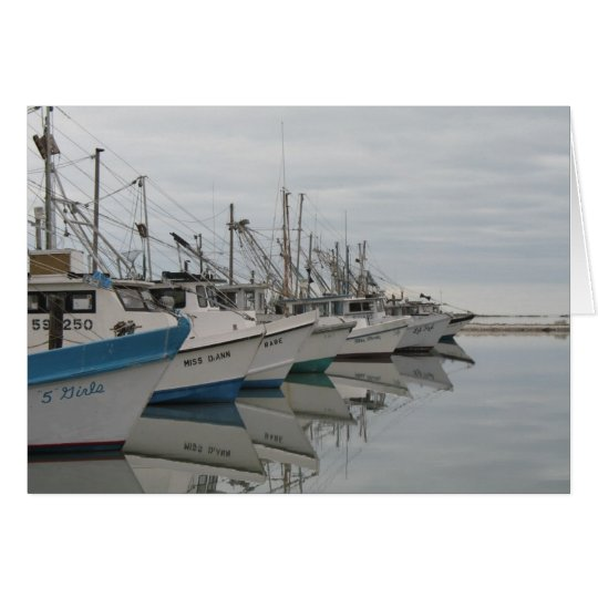December Harbour Note Card