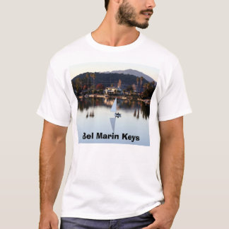 December Sail, Bel Marin Keys T-Shirt